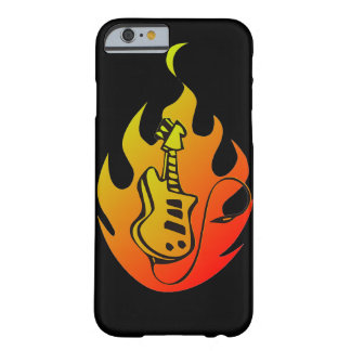 Gitarren avfyrar barely there iPhone 6 skal