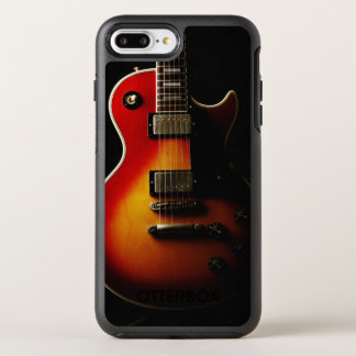 Gitarren instrumenterar OtterBox symmetry iPhone 7 plus skal