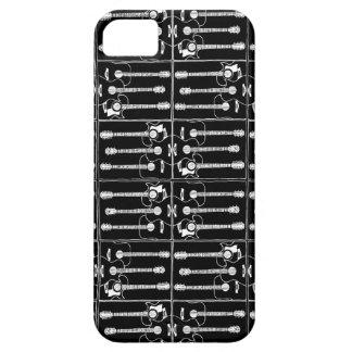 Gitarrer i svart iPhone 5 Case-Mate skal