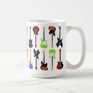 Gitarrer Kaffemugg