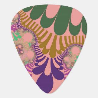 Gitarrer Plektrum för design för persikaträdmod