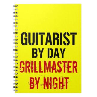 Gitarrist Grillmaster Anteckningsbok