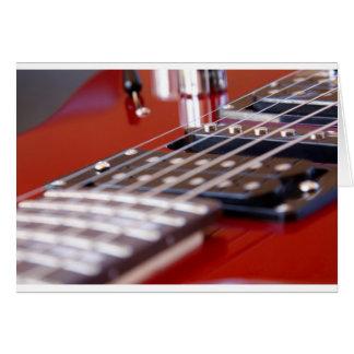 Gitarrist Hälsningskort