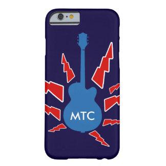 gitarrstenpersonlig barely there iPhone 6 skal