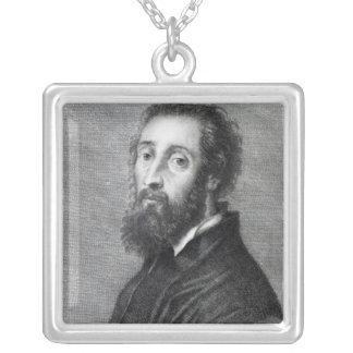 Giulio Romano Silverpläterat Halsband