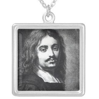 Giuseppe Ribera Silverpläterat Halsband