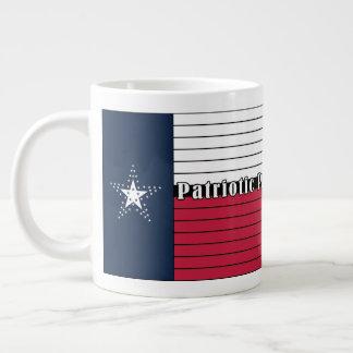 Gjord amerikan, stolt Texas! Jumbomugg Jumbo Mugg