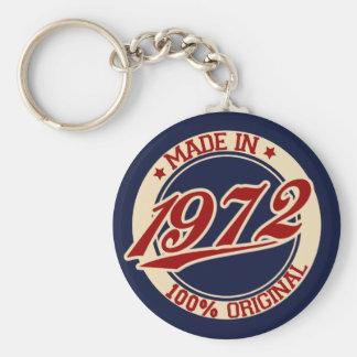 Gjort i 1972 rund nyckelring