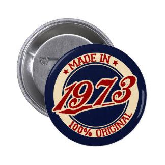 Gjort i 1973 standard knapp rund 5.7 cm