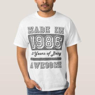 Gjort i 1986 tröjor