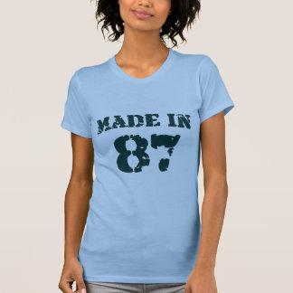Gjort i 1987 t-shirts