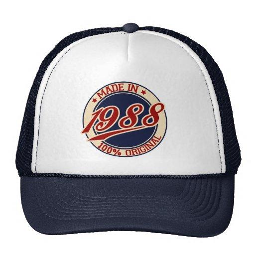 Gjort i 1988 baseball hat