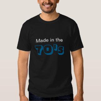 Gjort i 70-talskjortan t-shirt