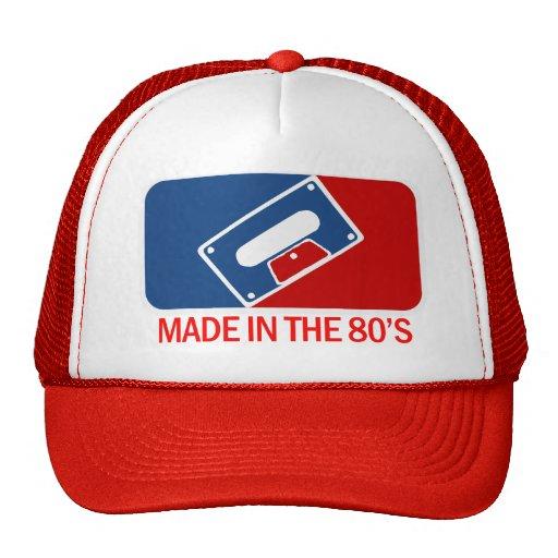 Gjort i 80-tal mesh kepsar