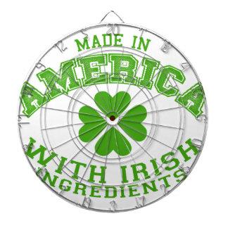 Gjort i Amerika med irländska ingredienser Piltavla