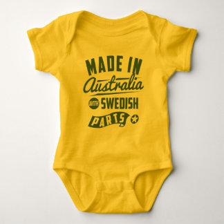 Gjort i Australien med svenska delar Tröja