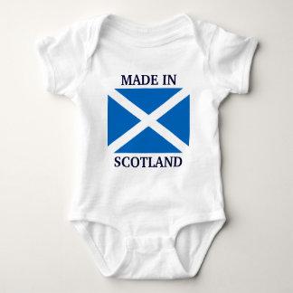 Gjort i bekläda för Skottland beställnings- bebis Tröjor