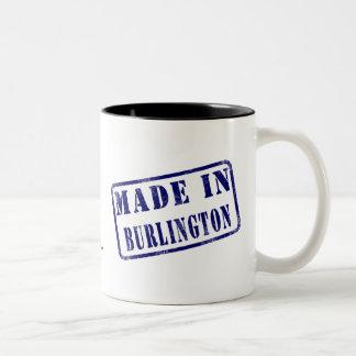 Gjort i Burlington Två-Tonad Mugg