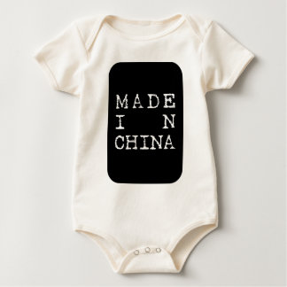 gjort i china body för baby