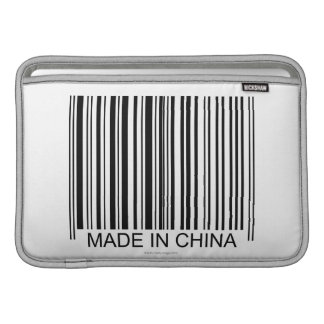 Gjort i china MacBook sleeve