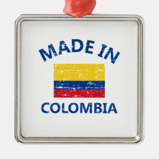 Gjort i Colombia Julgransprydnad Metall