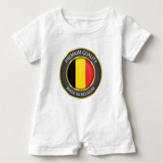 Gjort i den Belgien flagga, belgiskt bekläda för Tee