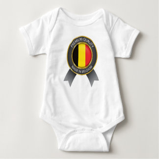 Gjort i den Belgien flagga, belgiskt bekläda för Tröja