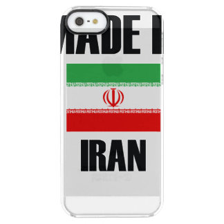 Gjort i den Iran flagga Clear iPhone SE/5/5s Skal