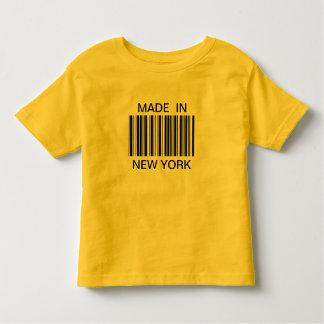 Gjort i den New York T-tröja T-shirts