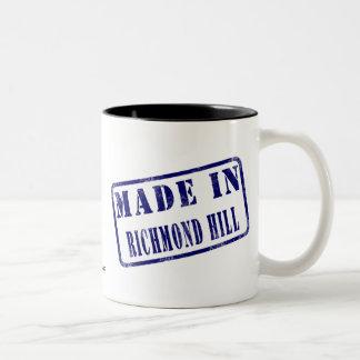 Gjort i den Richmond backen Två-Tonad Mugg
