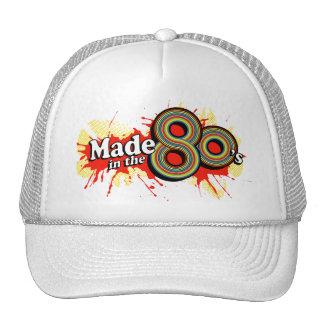 Gjort i den röda splathatten för 80-tal baseball hat