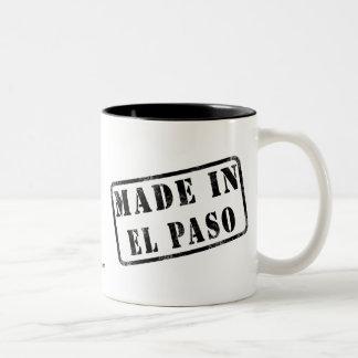 Gjort i El Paso Två-Tonad Mugg