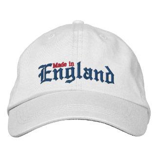 Gjort i England Broderad Keps
