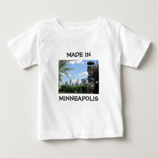 Gjort i Minneapolis bebisskjorta T Shirt