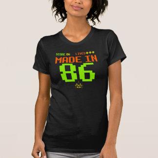 GJORT i RETRO inspirerad födelsedagutslagsplats T-shirts