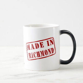 Gjort i Richmond Morphing Mugg