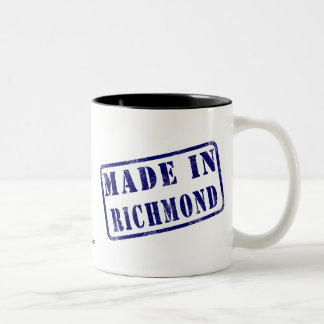 Gjort i Richmond Två-Tonad Mugg