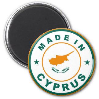 gjort i runda för etikett för produkt för cyprus l magnet