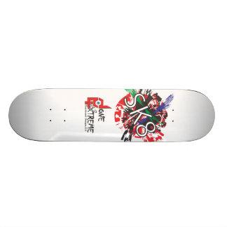 Gjort i skateboarden för ytterlighet SK8 (vit) Skate Board Decks