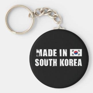 Gjort i Sydkorea Rund Nyckelring