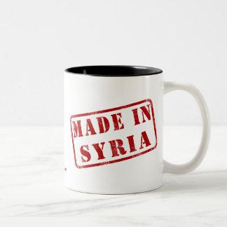 Gjort i Syrien Två-Tonad Mugg