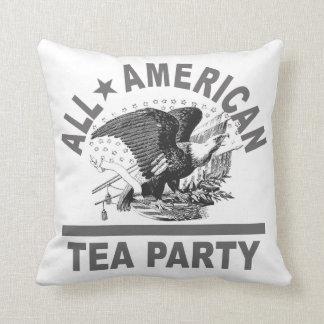 Gjort i USA Teapartyet patriotiskt Kudde