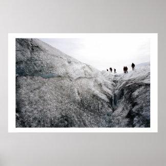Glaciär Poster