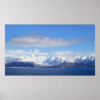 Glaciären beskådar poster