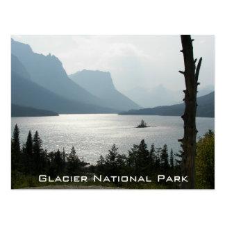 Glaciärnationalparken reser vykort