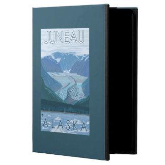 Glaciärplats - Juneau, Alaska Fodral För iPad Air