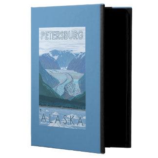 Glaciärplats - Petersburg, Alaska Fodral För iPad Air