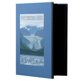 Glaciärplats - Petersburg, Alaska iPad Air Fodral