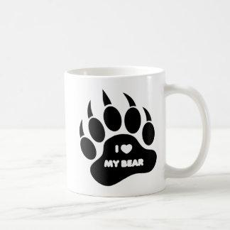 Glad björn-/ungemugg mig hjärta min björn i kaffemugg