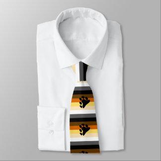 Glad björnbrödraskapflagga slips